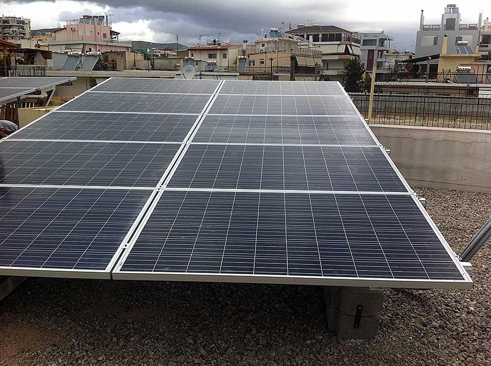 Εγκατασταση Φωτοβολταϊκού στην Αθηνα